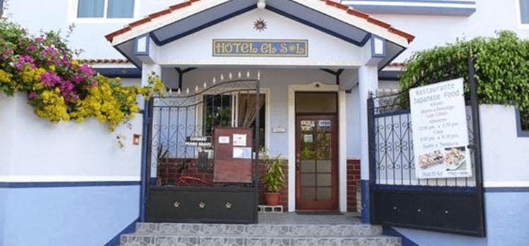 Hotel el SOL en Panajachel