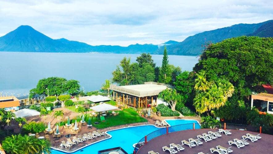 Boda en porta hotel del lago panajachel